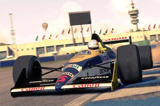 """F1 2013"" Classics 80er Jahre"