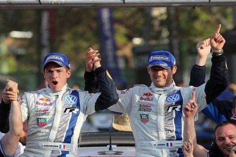 Julien Ingrassia und Sebastien Ogier fuhren gemeinsam zum WM-Titel