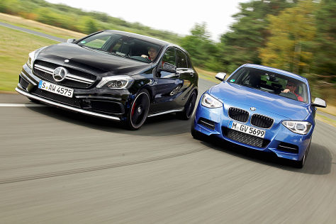 BMW 1er Mercedes A-Klasse