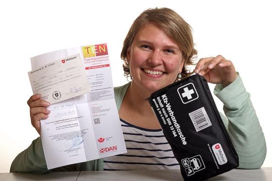 Führerschein-Anwärterin Stefanie Wille