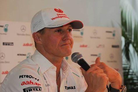 Michael Schumacher ist in Laudas Augen nicht an sich, sondern am Auto gescheitert