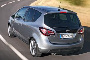Opel schminkt Meriva nach