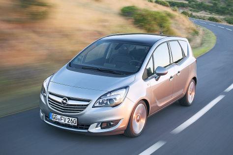 Opel Meriva Facelift 2013
