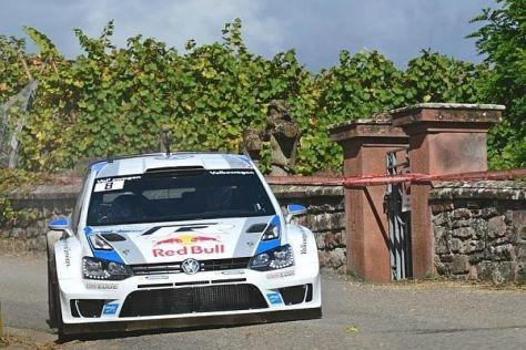 Sebastien Ogier triumphiert nach verhaltenem Start bei der Rallye Frankreich