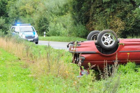 ADAC-Foto zum Thema Landstraßenunfälle