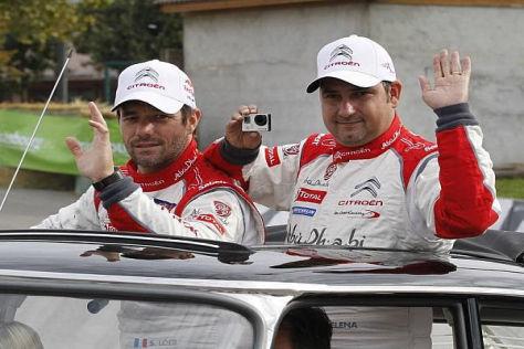 """Sebastien Loeb und Daniel Elena sagen zum WRC-Abschied: """"Au revoir!"""""""