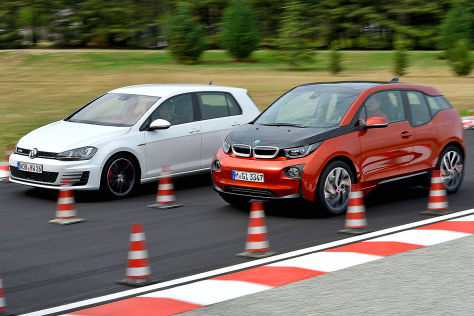 BMW i3 VW Golf