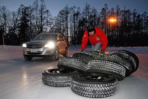 Winterreifen-Test: Reifen für Allradler
