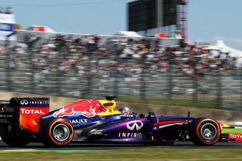 Weltmeister Sebastian Vettel war mal wieder der Schnellste