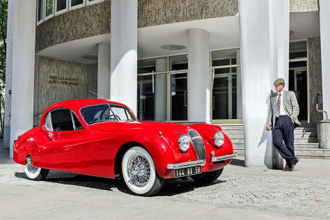 Jaguar XK 120 S FHC