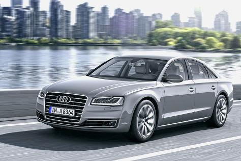 Audi A8 Facelift: Fahrbericht