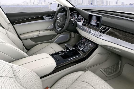Audi A8 Facelift Innenraum