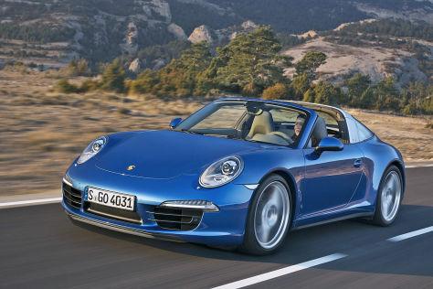 Porsche 911 Targa Illustration