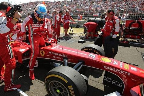 Wird Fernando Alonso früher als geplant sein Ferrari-Cockpit räumen?