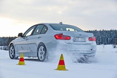 BMW 3er, Winterreifen-Test 2013, AUTO BILD