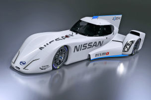 Nissans E-Rakete für Le Mans