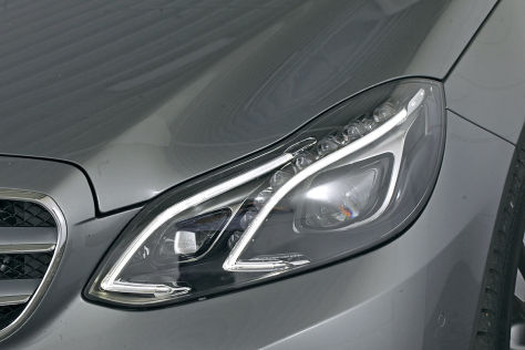 Scheinwerfer Mercedes E-Klasse