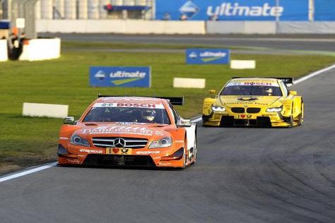Robert Wickens tut sich schwer, seinen Mercedes in die Top 10 zu prügeln