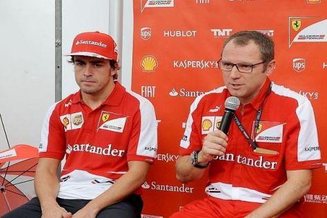 Stefano Domenicali kann sich nicht vorstellen, dass Fernando Alonso geht