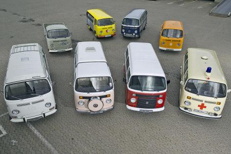 Der VW T2-Bus ist ausgelaufen