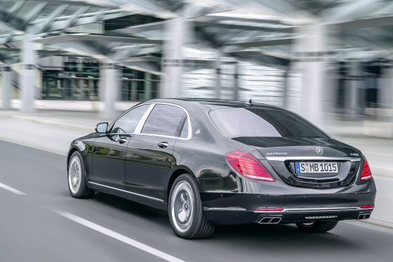 Mercedes-Maybach S 600 Heckansicht