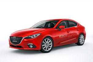 Mazda wird grün