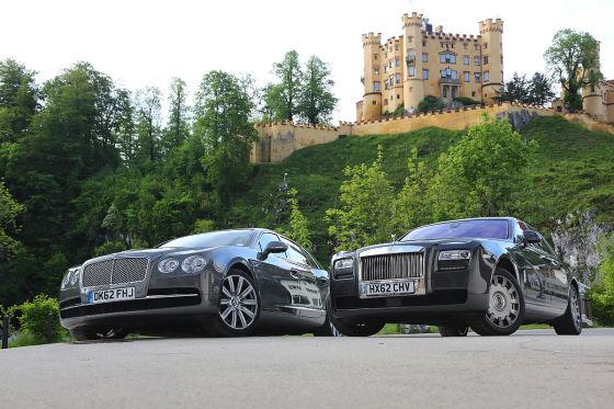 Bentley Flying Spur Rolls-Royce Ghost