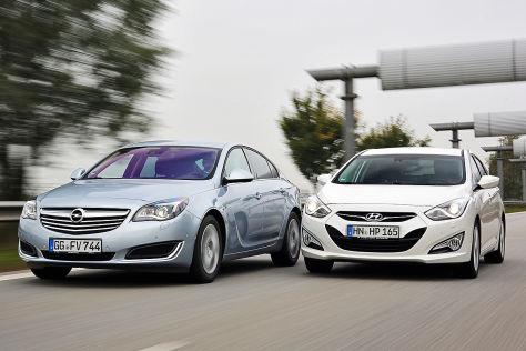 Hyundai i40 Opel Insignia