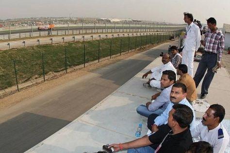 Für viele Inder bleibt der Grand-Prix-Sport trotz des Rennens in Noida ein Fremdkörper