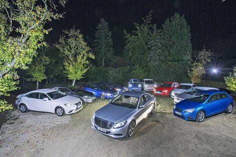 LED-Test-Fahrzeuge