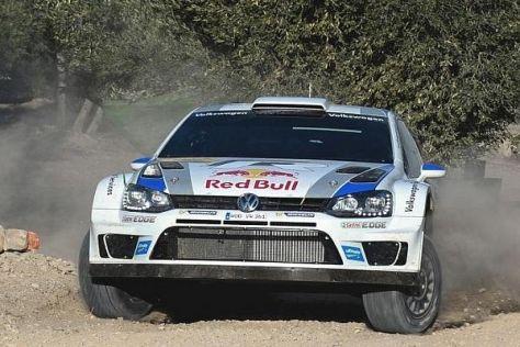 Sebastien Ogier gewann nach einer starken Aufholjagd die Rallye Spanien