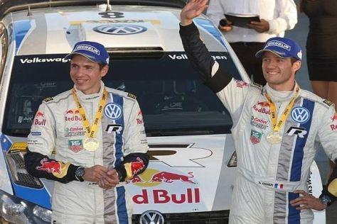 Zum achten Mal hießen die Sieger Julien Ingrassia (li.) und Sebastien Ogier (re.)