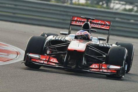 Jenson Button genießt es auch bei Misserfolg, ein Formel-1-Auto zu fahren