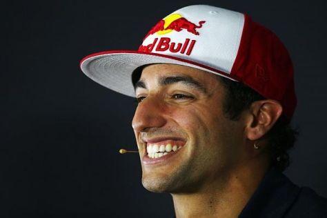 Daniel Ricciardo steht trotz zuletzt schwächerer Form in der Gunst Red Bulls