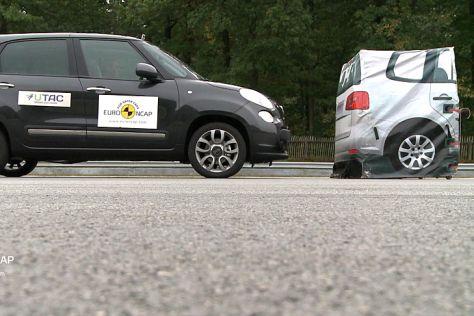 Euro NCAP: Notbremssysteme im Test