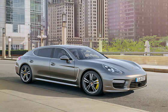 Porsche Panamera Turbo S Executive Frontansicht