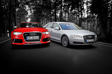Audi RS6 Audi A8