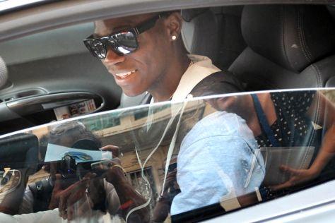 Mario Balotelli: Unfall mit dem Audi R8