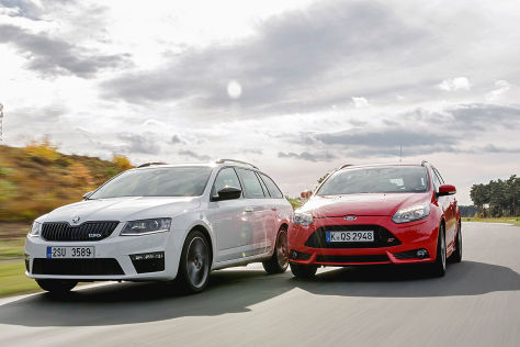 Ford Focus ST Skoda Octavia RS