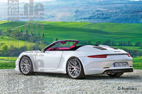Porsche 911 Speedster Illustration