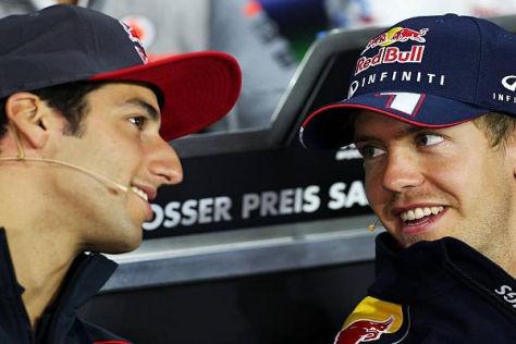 Daniel Ricciardo hat keine Angst vor dem viermaligen Weltmeister Sebastian Vettel