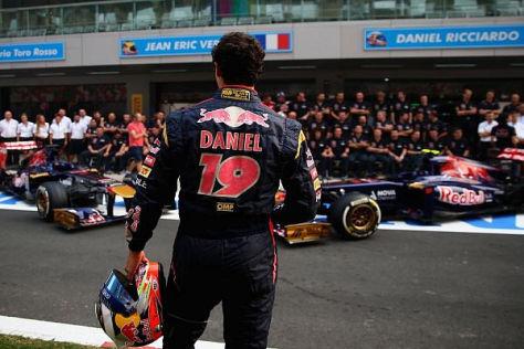 Daniel Ricciardo wird 2014 für Red Bull fahren: Daniil Kwjat kommt