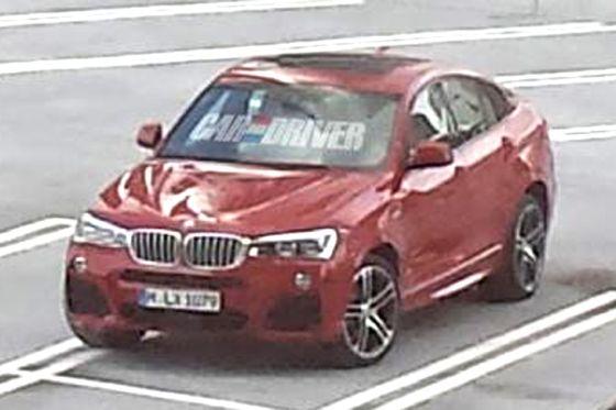 BMW X4 ungetarnt
