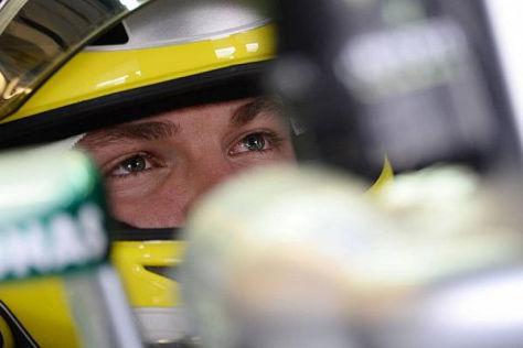 Rosberg hat den Klassenprimus nicht aus den Augen verloren