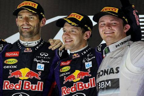 Bereits am Start führte Sebastian Vettel die Vorentscheidung im Rennen herbei
