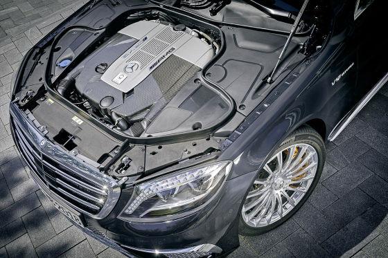 Mercedes S 65 AMG Motor