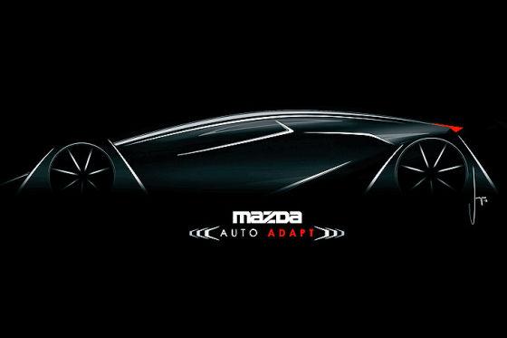 """Mazda-Entwurf """"Auto-Adapt"""" für die LA Design Challenge 2013"""