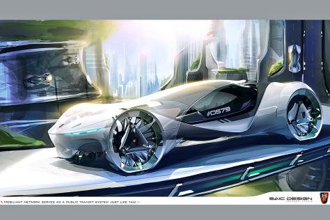 Subaru-Entwurf SUBA-ROO für die LA Design Challenge 2013
