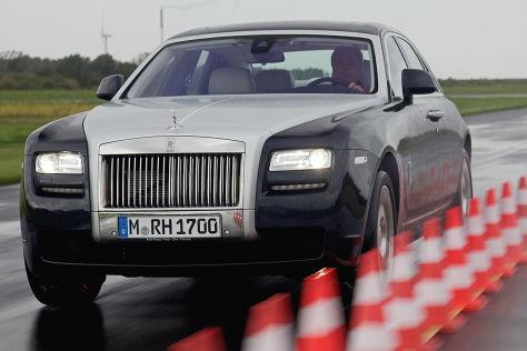 14 Autos im Geräuschtest