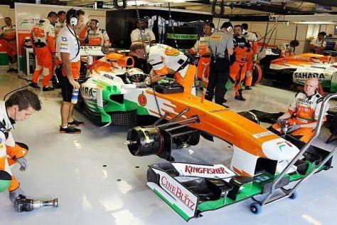 Adrian Sutil und Force India sind seit vielen Jahren ein eingespieltes Team